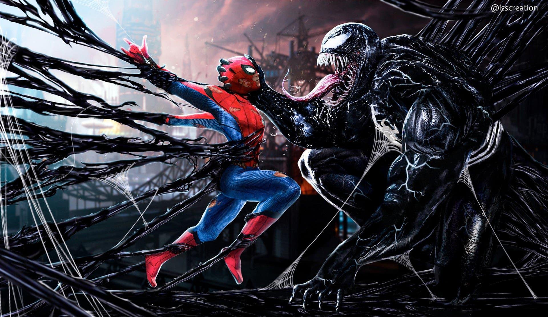 spider-man Tom Holland vs venom