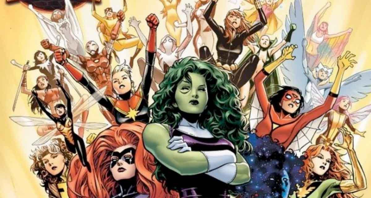 Marvel hará una serie de superheroínas