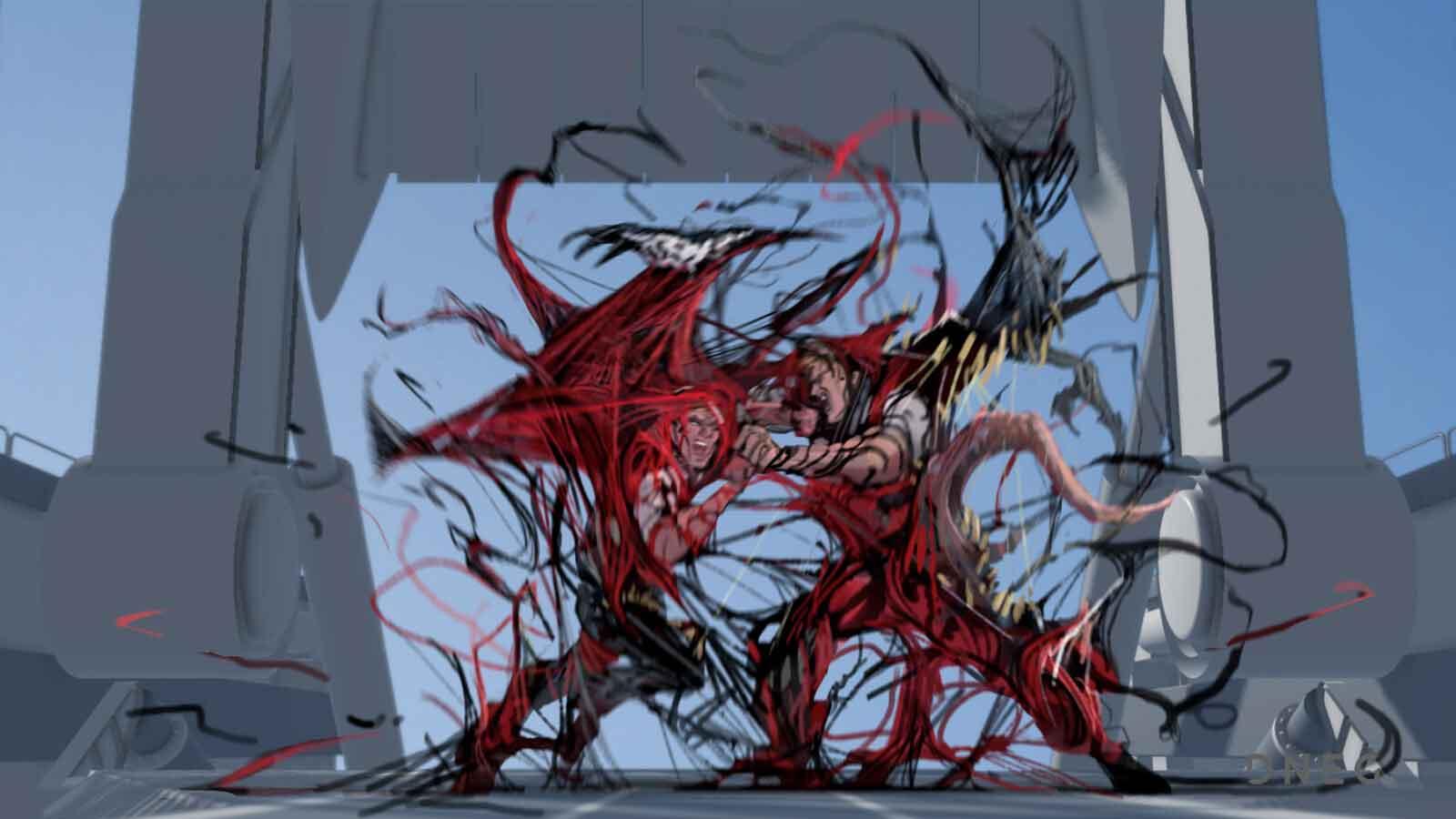 Venom pudo tener un aspecto diferente al que vimos en la película