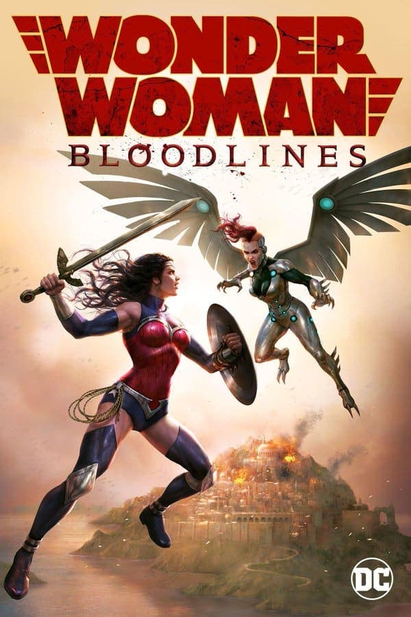 wonder woman bloodline cover
