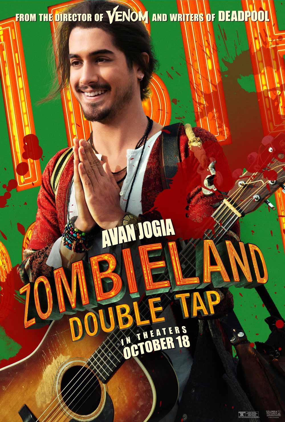 Zombieland Mata y remata Avan Jogia