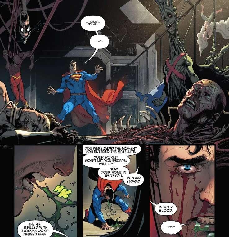 Batman/ Superma Liga de la justicia
