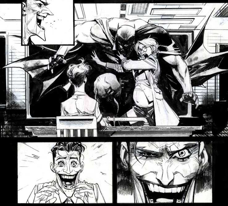 Batman: White Knight Harley embarazada del Joker