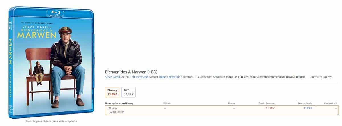 Bienvenidos a Marwen: Análisis del Blu-Ray