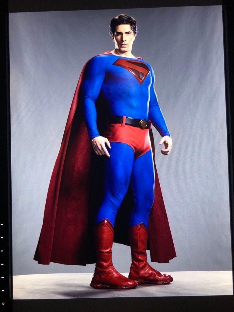 Brandon Routh Crisis en tierras infinitas Superman Kingdom Come