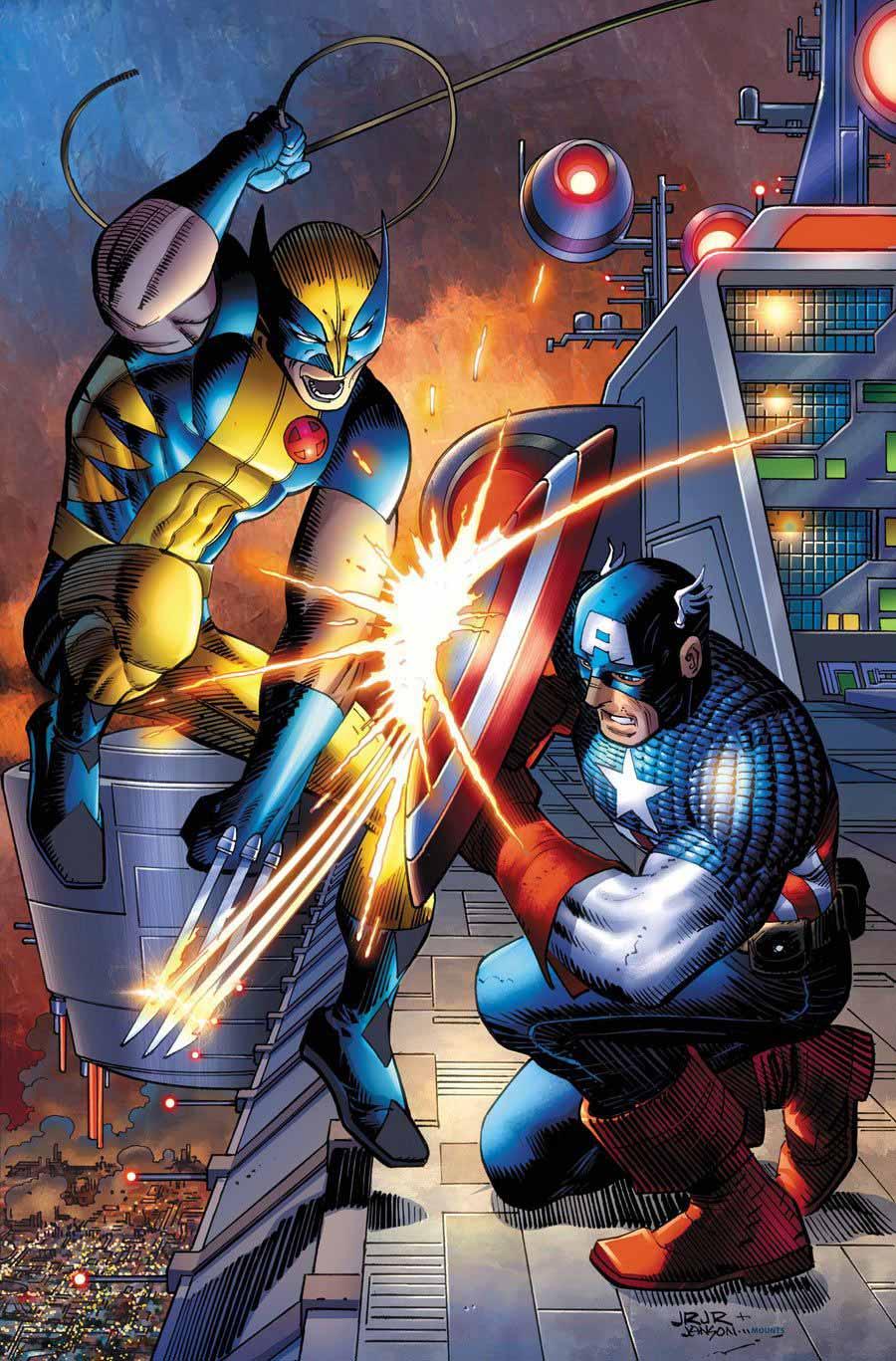 ¿Wolverine puede cortar el escudo del Capitán América con sus garras?