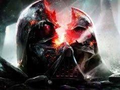 Darth Vader Helmet Cracked Open
