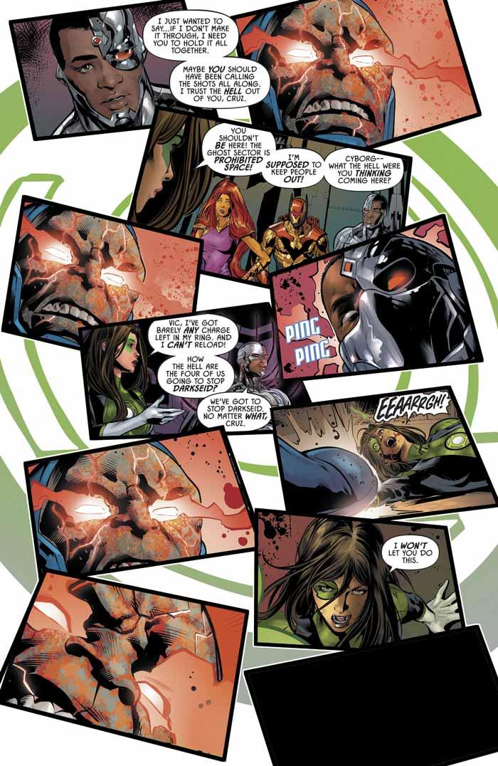 La liga de la justicia: Odisea - Green Lantern