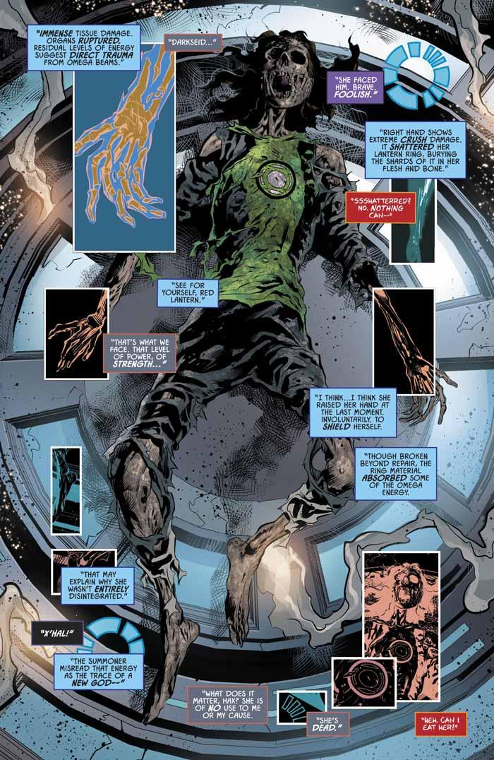 Muerte de Jessica Cruz Green Lantern