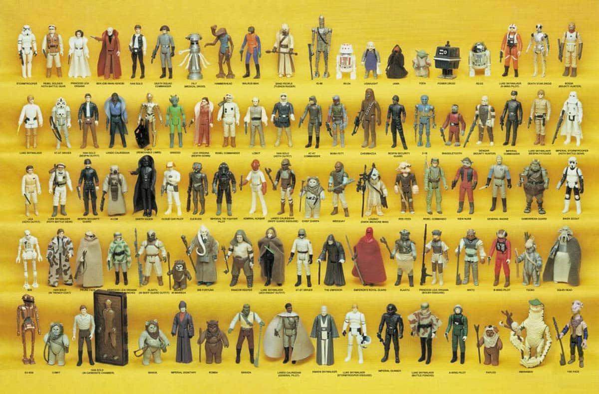 Colección completa de KENNER de Star Wars 1978-1985
