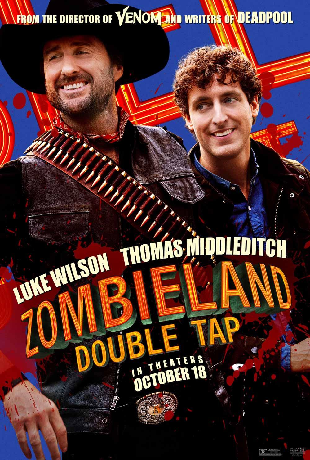Zombieland Mata y remata Like Wilson y Thomas Milddleditch