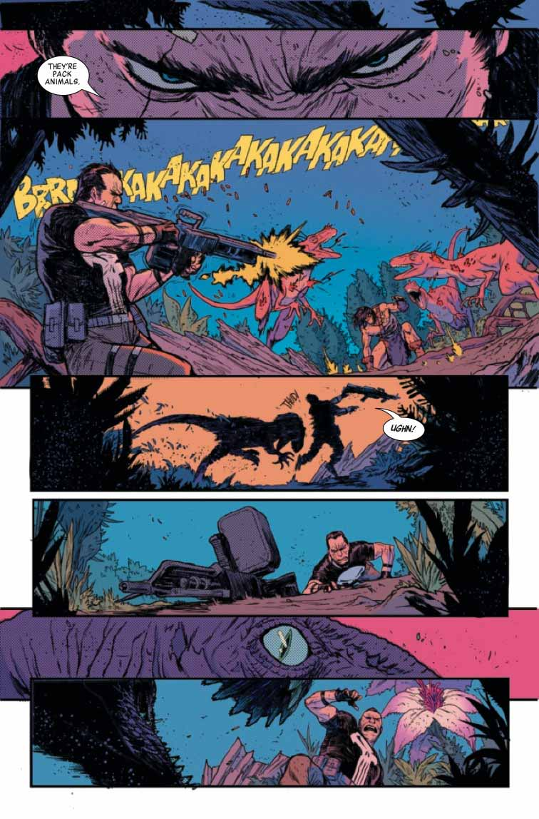 Punisher y Conan juntos en Blood Brothers