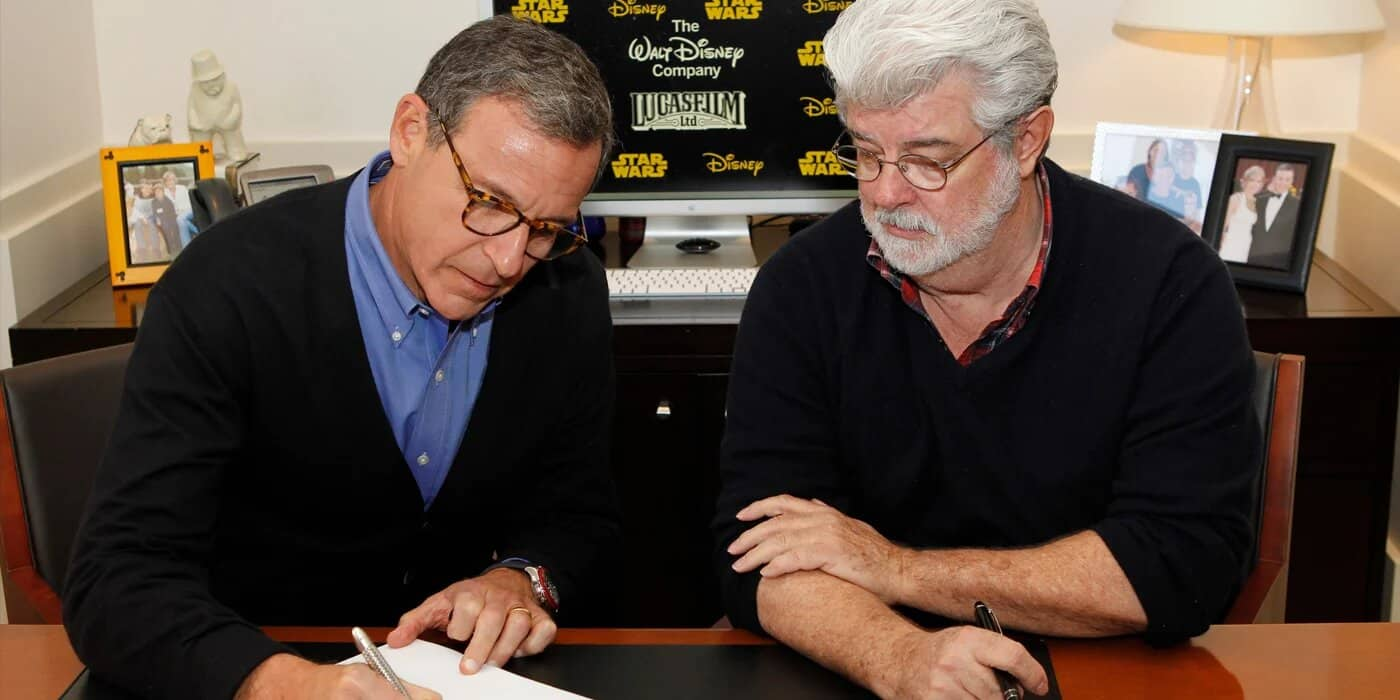 Star Wars Bob Iger George Lucas