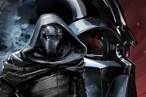 Star Wars Rise of Kylo Ren Comic Cover