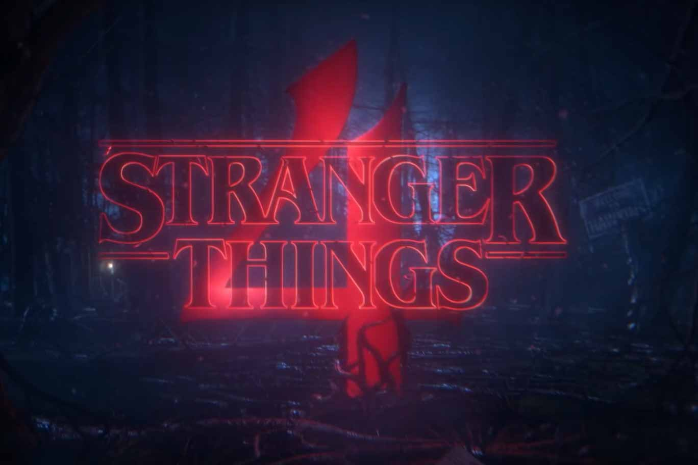 Stranger things 4 de Netflix