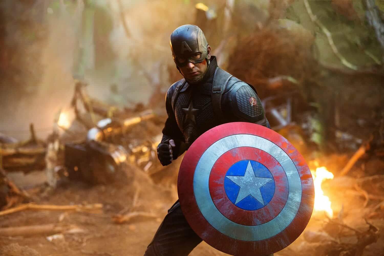 Capitán América en la batalla final