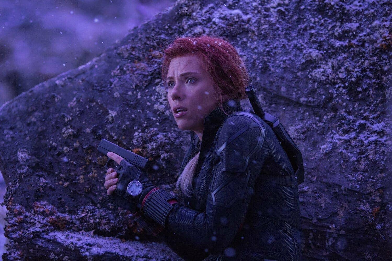 Black Widow en Vormir. película Marvel Studios