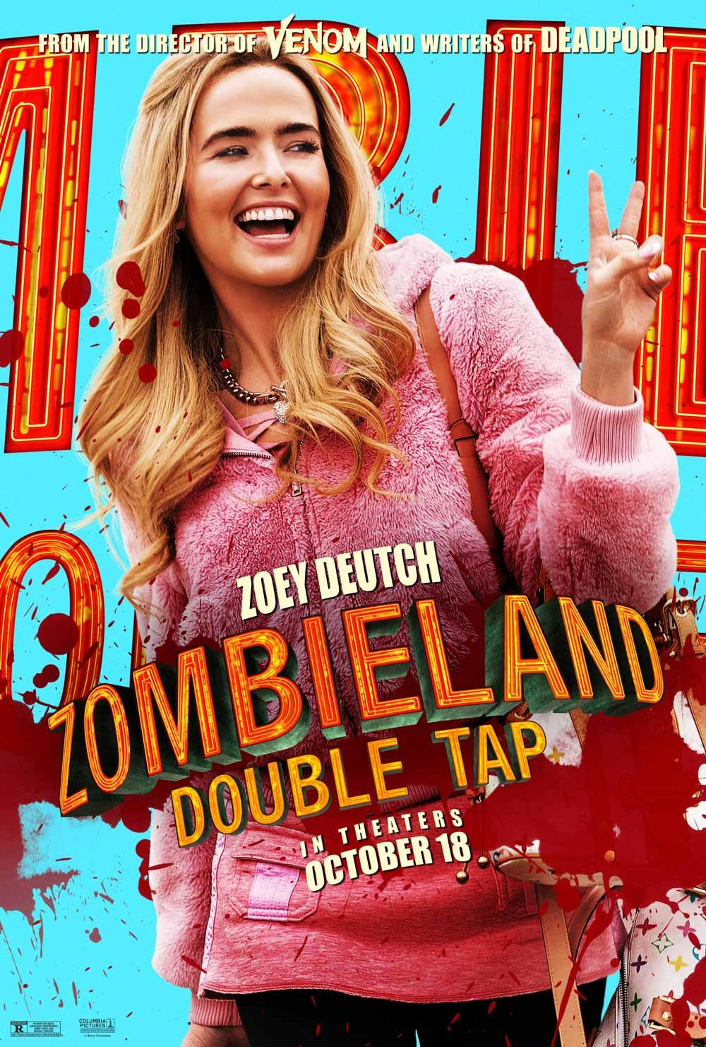 Zombieland Mata y remata Zoey Deutch