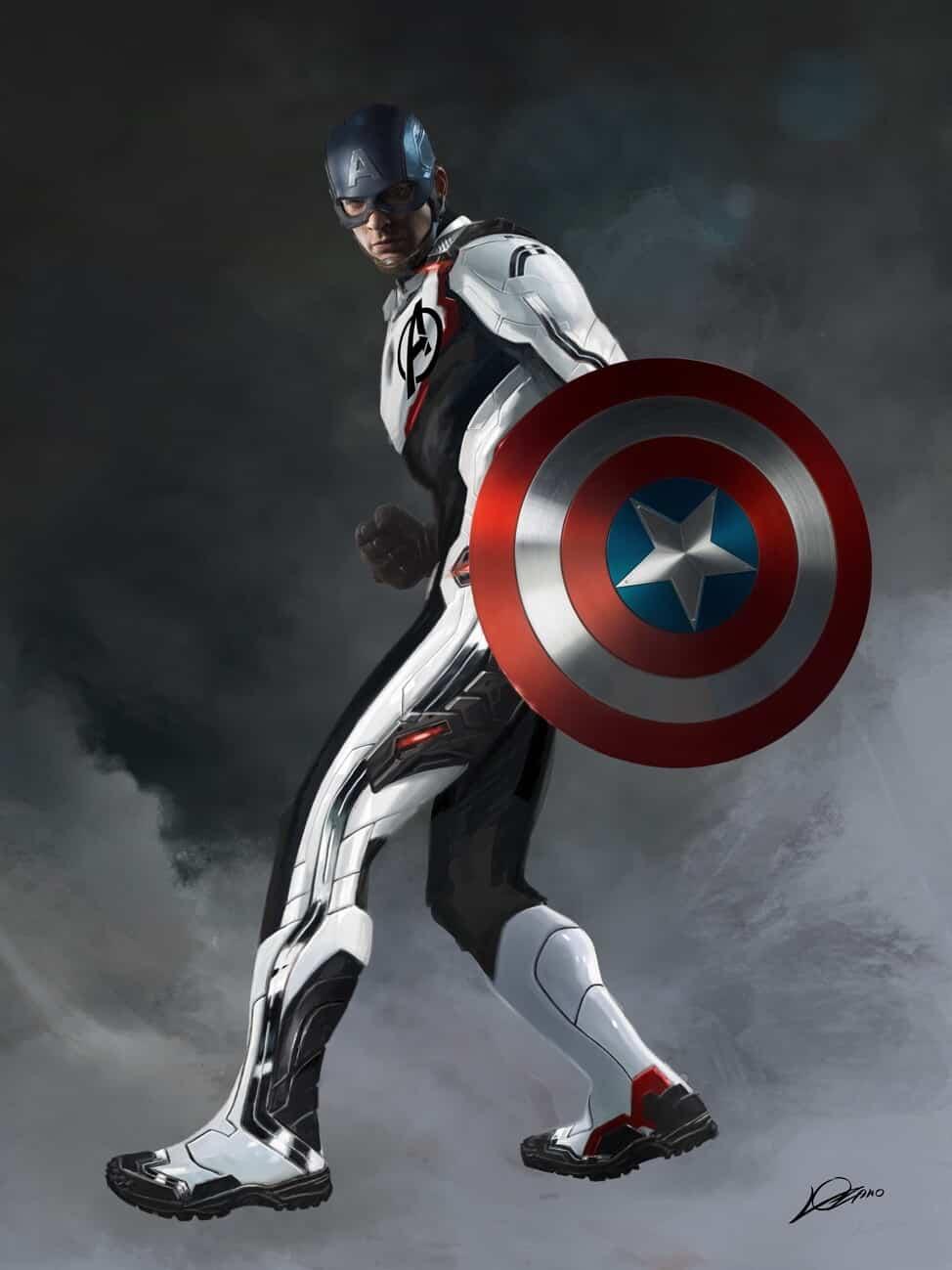 capitán américa vengadores: endgame
