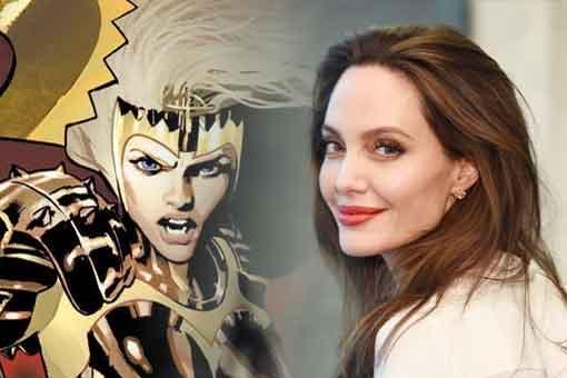 Filtran la primera imagen de Angelina Jolie en Los Eternos (SPOILERS)