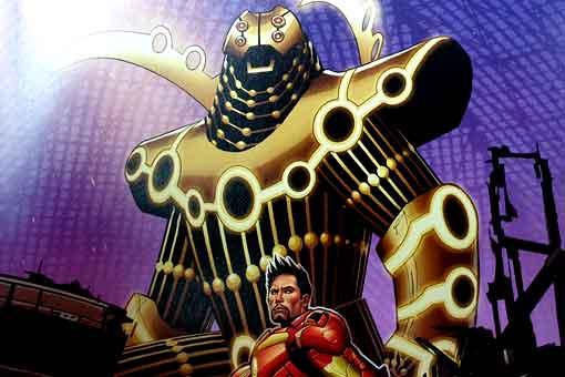 Iron Man obtiene la armadura más descomunal del Universo Marvel