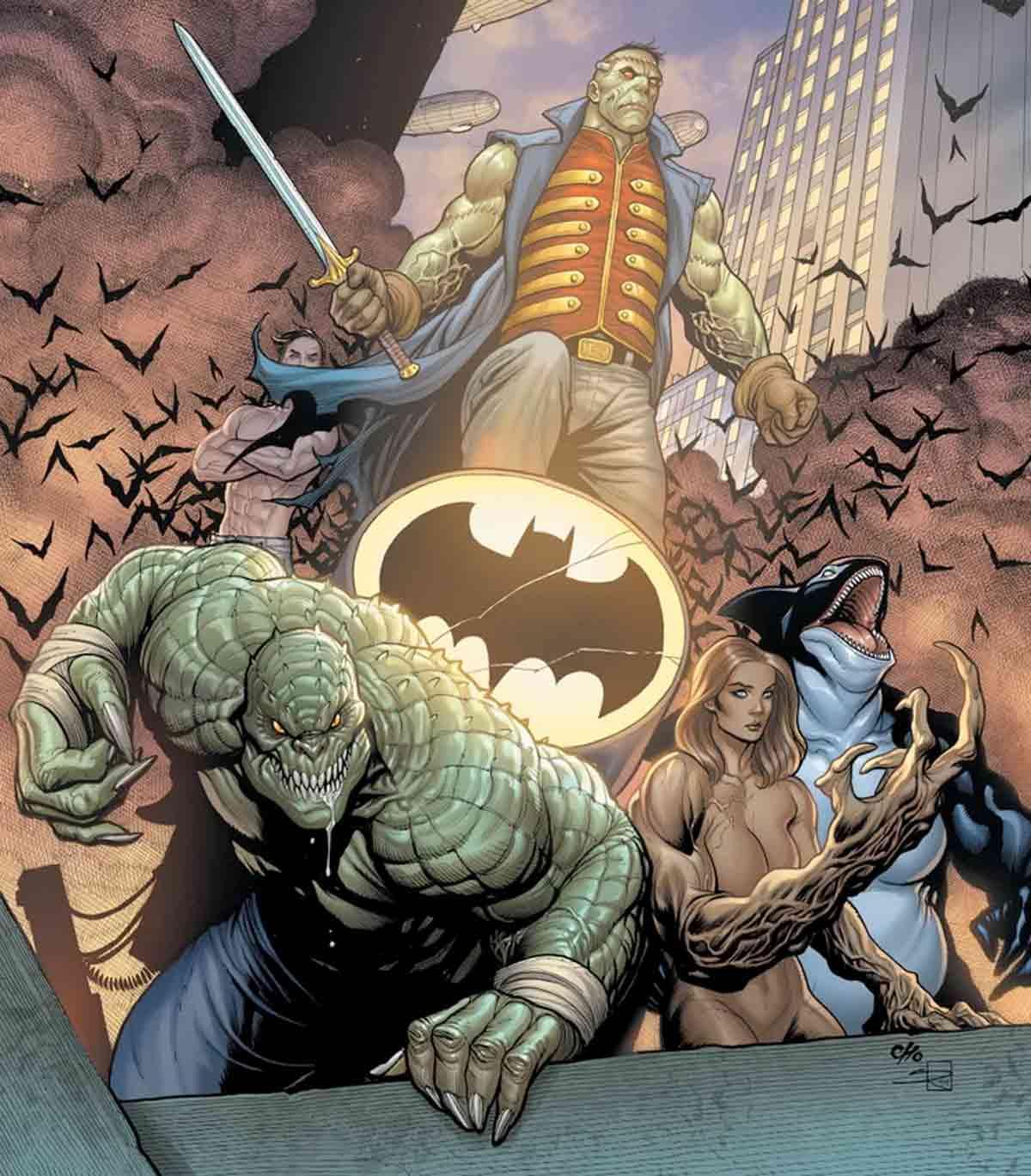 Cuando Batman no está, los monstruos salvan Gotham