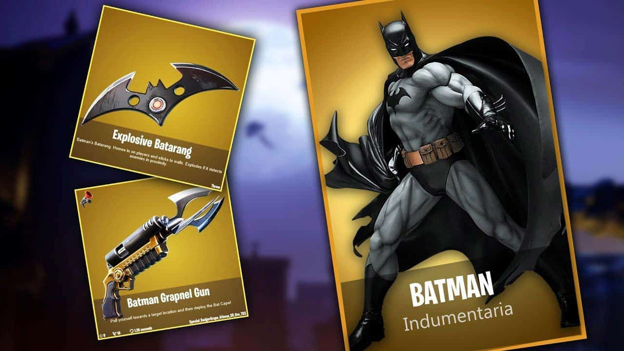 batman day en fortnite