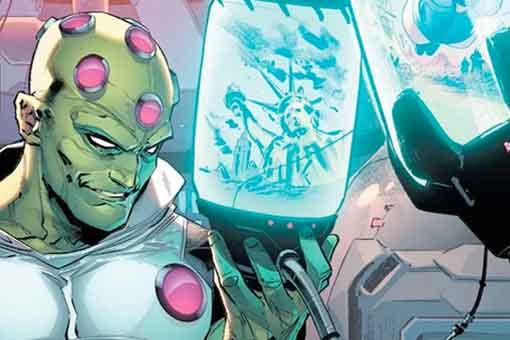 Brainiac ya es el más poderoso de DC Comics gracias a su actualización