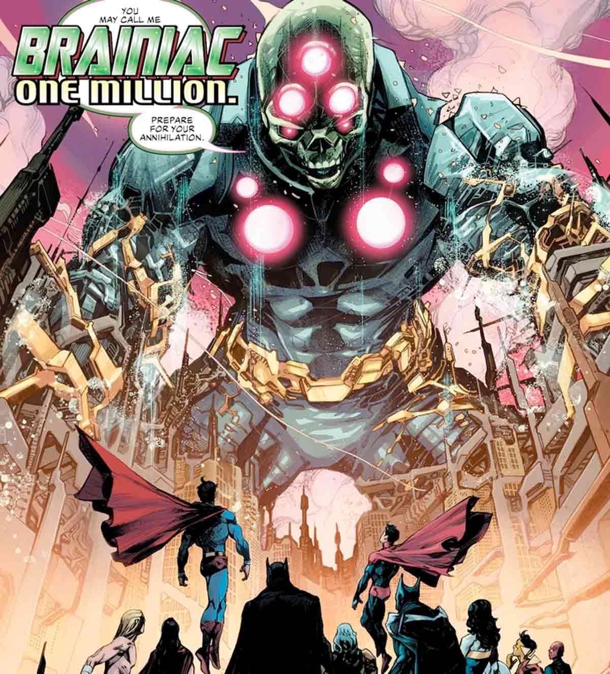 Brainiac un millón ¡El nuevo gran enemigo de Liga de la Justicia!