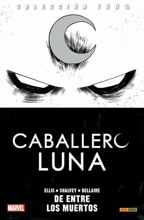 10 Comics de MARVEL que debes de leer antes de la FASE 4 del UCM. caballero luna de entre los muertos
