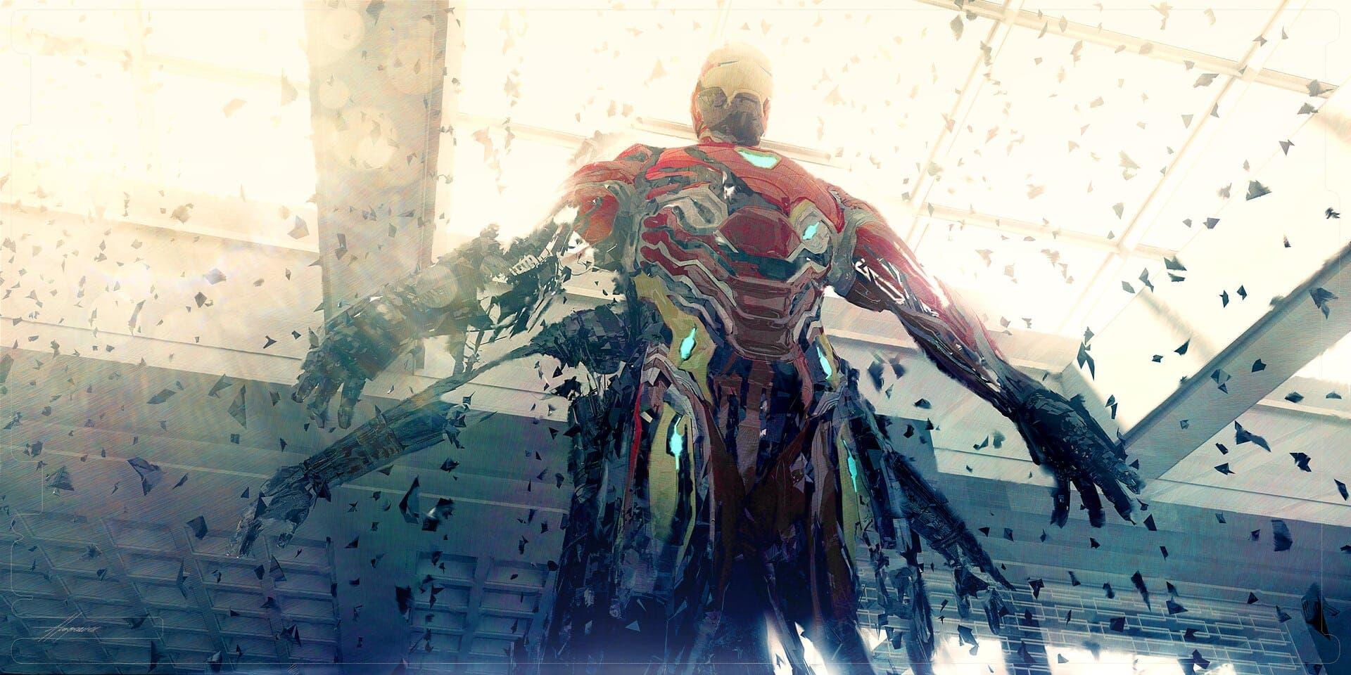 concept art Vengadores: endgame