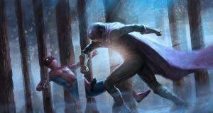 Spidey vs misterio. En spider-man: Lejos de casa