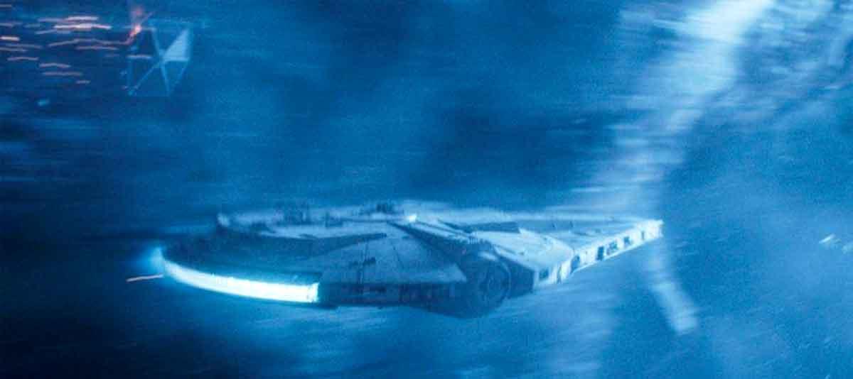 Motivo por el qué George Lucas cambió el diseño del Halcón Milenario