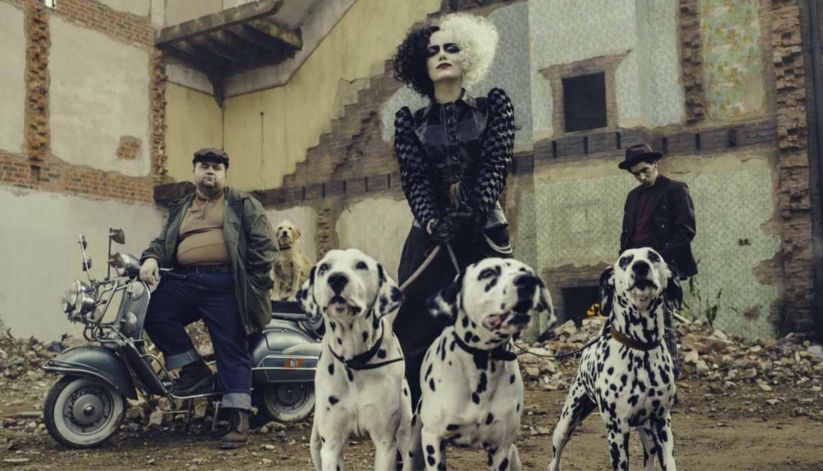 Cruella de Vil: Emma Stone protagoniza nuevas imágenes como la villana de la película