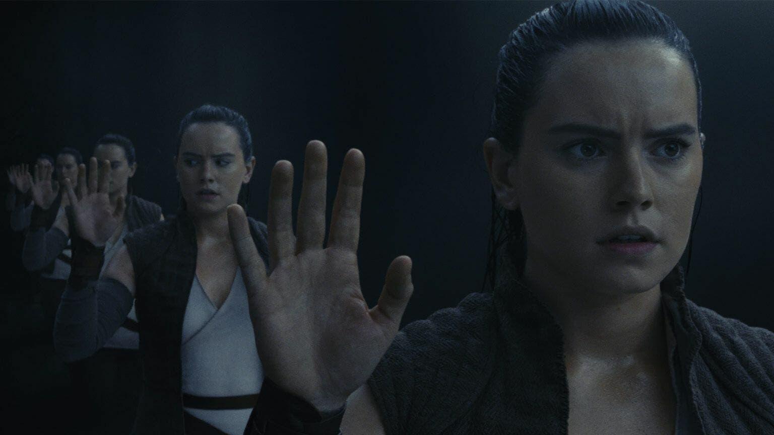 La escena padres de Rey Los últimos jedi explicaría que ella es una clon en Star wars: 9