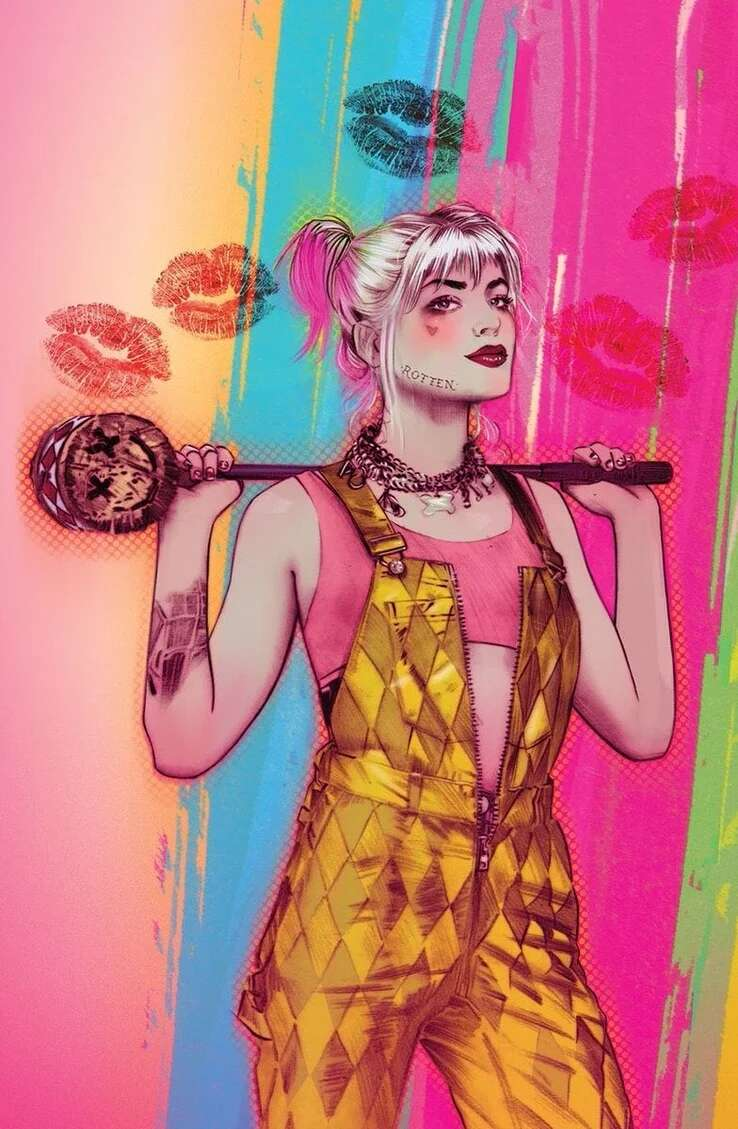 Harley Quinn Aves de presa (Birds of prey)