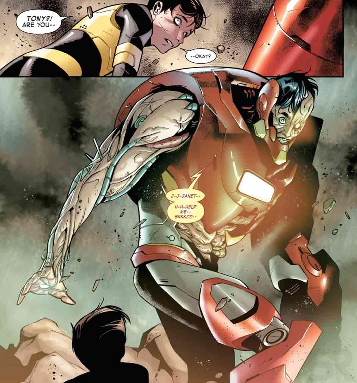 La nueva armadura de Iron Man ULTRON es absolutamente perturbadora