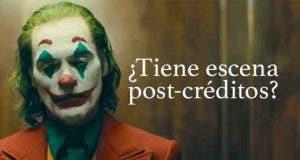 Joker ¿Tiene escena post-créditos?