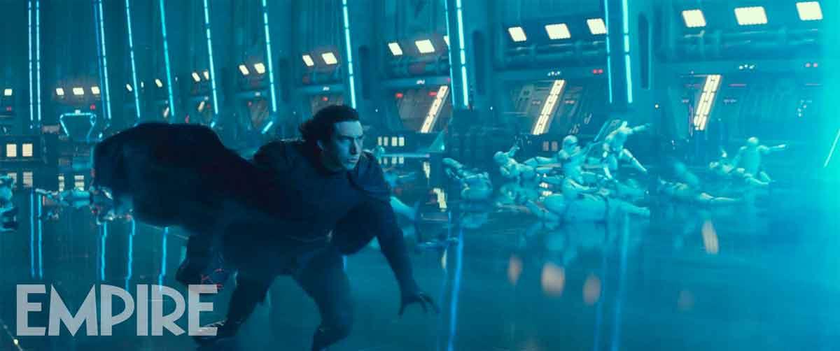 Star Wars 9: Nueva imagen de Kylo Ren enfrentándose a un gran peligro