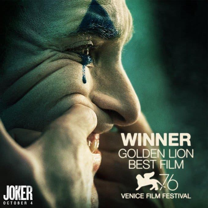 JOKER. El Festival de cine de Venecia corona a la película de DC Comics