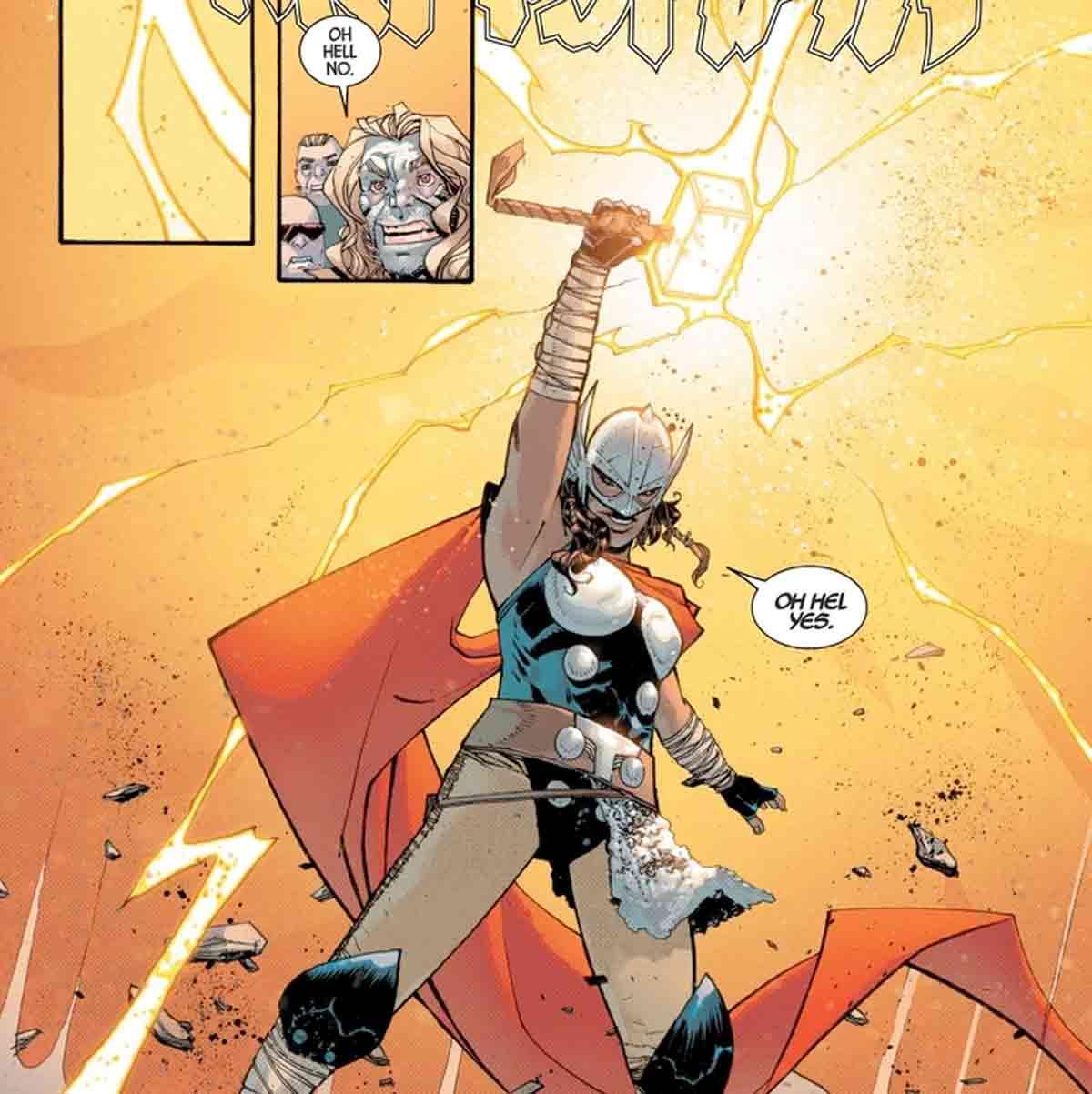 Revelado el nuevo Thor del futuro alternativo de Old Man Logan