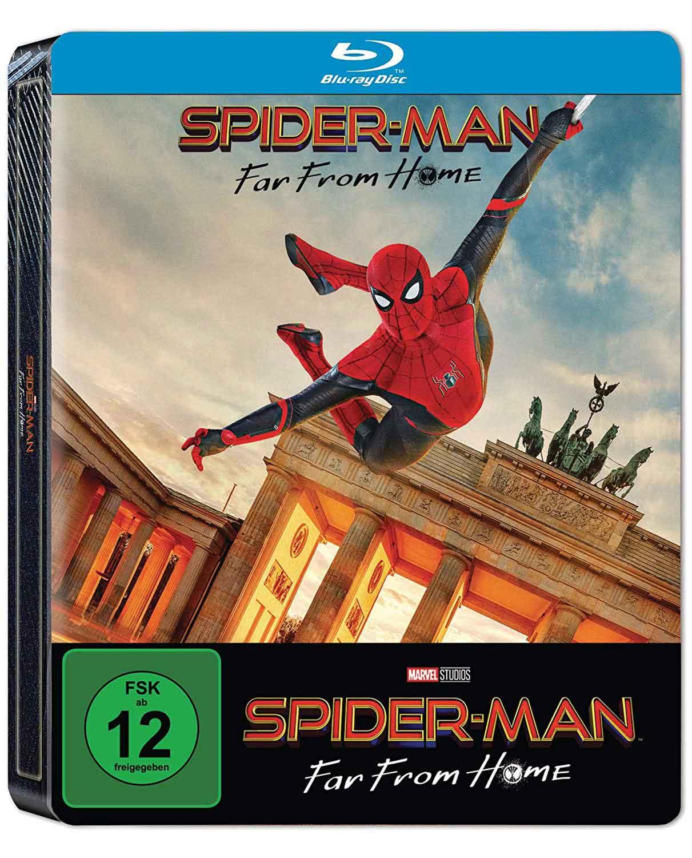 portada Blu-ray Spider-man: lejos de casa