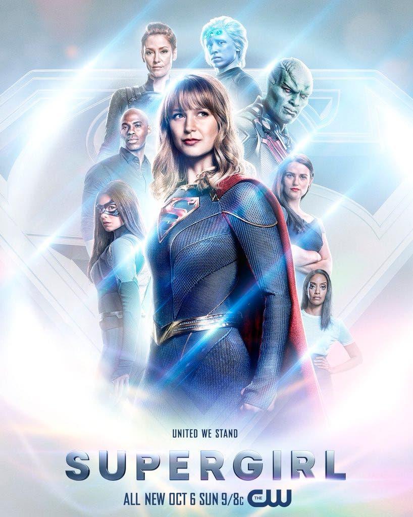 poster temporada 5 de supergirl