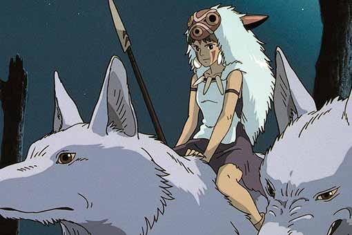 La Princesa Mononoke. obra maestra de hayao miyazaki