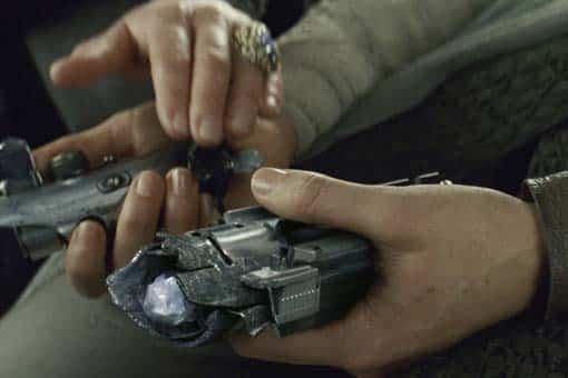 Star wars 9: el ascenso de Skywalker. imagen del sable de luz de Luke reparado por Rey