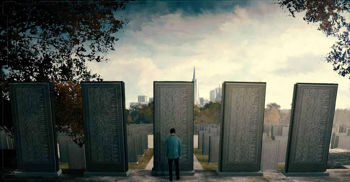 Monumento caídos del Chasquido de Thanos