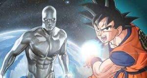 Silver Surfer le roba a Goku el ataque más poderosos de Dragon Ball Z
