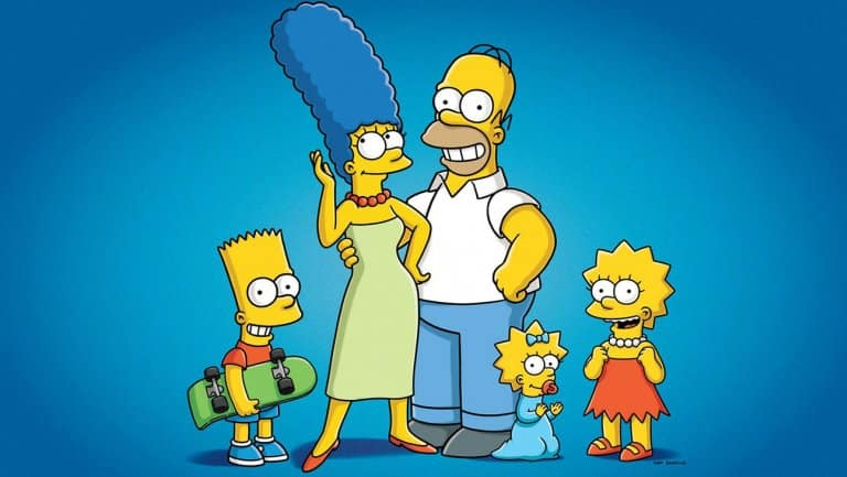 Los simpsons en Disney +