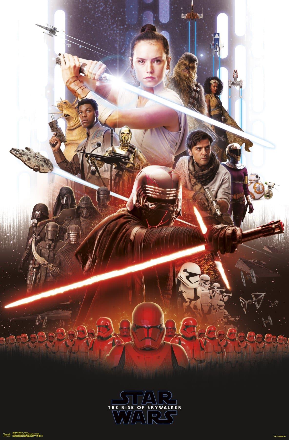 star wars 9 el ascenso de skywalker grupo