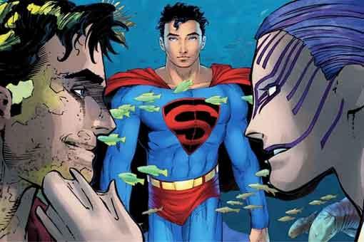 Superman tiene sexo con una sirena en su nuevo origen